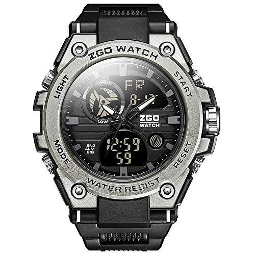 Aleación de titanio reloj electrónico de las fuerzas especiales del reloj fecha masculino multifunción...