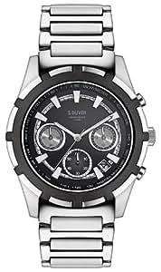 s.Oliver Herren-Armbanduhr XL Analog Quarz Edelstahl SO-2508-MC