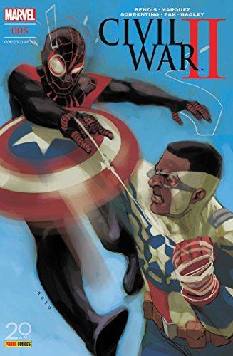 Civil War II nº5 (couverture 2/2) par Brian M. Bendis