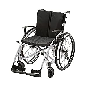 "Ability Superstore Spirit Wheelchair - 18"" (Eligible for VAT relief in the UK)"