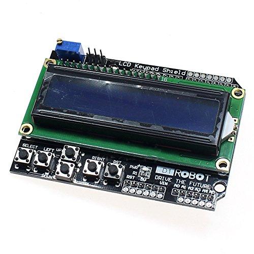 Demarkt LCD1602 Zeichen LCD Eintrag Export Expansion Board LCD Keypad Shield
