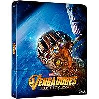 BD 3D Steelbook Vengadores Infinity War