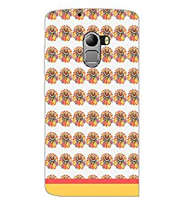 PrintDhaba Floral Pattern D-1882 Back Case Cover for LENOVO VIBE X3 LITE (Multi-Coloured)