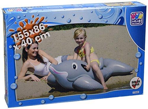 Happy People 77845 - Schwimmtier, Delfin, 155 x -
