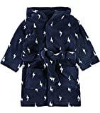 NAME IT mini Jungen Badesmantel dunkelblau Nitvaluto, Farbe:dress blues, Größe: