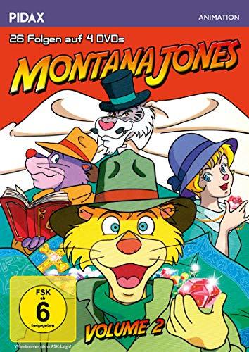Montana Jones, Vol. 2 / Weitere 26 Folgen der erfolgreichen Anime-Serie (Pidax Animation) [4 DVDs]