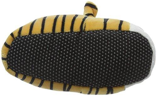 Eaze Jungen Tiger Hausschuhe Black (Black/Tan)