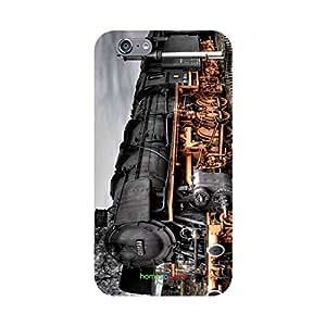 HomeSoGood Vintage Steam Engine Grey 3D Mobile Case For iPhone 6S (Back Cover)