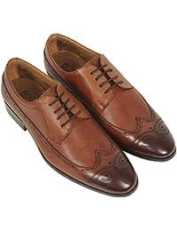 ROSSO BRUNELLO Men's Beige Formal Shoes MS-3060_TAN