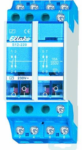 Preisvergleich Produktbild Eltako S12-400-230V 4-poliger Stromstoßschalter