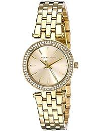 Michael Kors Damen-Armbanduhr Analog Quarz Edelstahl beschichtet MK3295