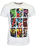 Marvel Avengers Herren Marvel Comic T-shirt X Large