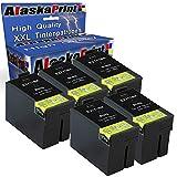 5X Druckerpatrone Kompatibel für Epson T2711xl T2711 XL T27xl Schwarz Black BK