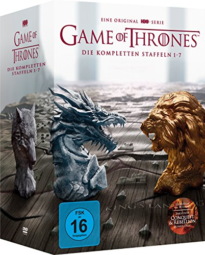 Game of Thrones: Die kompletten Staffeln 1-7 Digipack + Bonus Discs + Fotobuch (exklusiv bei Amazon.de) [Limited Edition]
