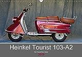 Heinkel Tourist 103-A2 Ein Freund fürs Leben (Wandkalender 2019 DIN A3 quer): Ein deutscher Motorroller mit großer Geschichte (Monatskalender, 14 Seiten ) (CALVENDO Mobilitaet)