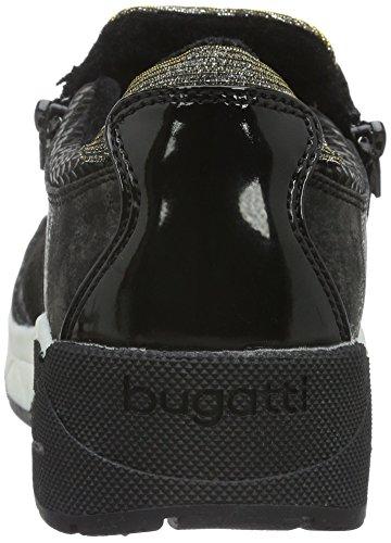 Senhoras Bugatti Preto 100 J8363pr6n black Tênis xAgAnYZq