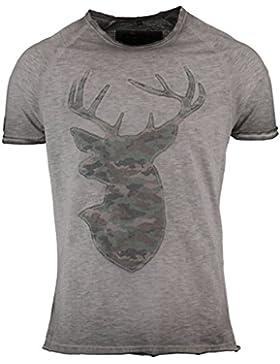 Hangowear Trachten-T-Shirt Markus Hellgrau