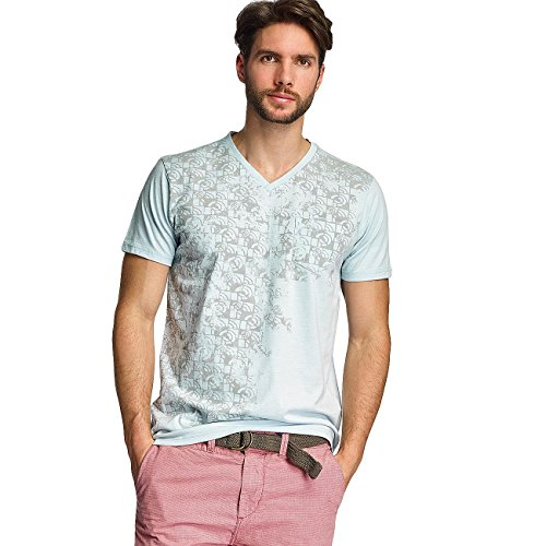 Petrol Industries Herren Oberteile / T-Shirt Pocket Blau