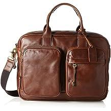 FOSSIL Buckner Citybag Umhängetasche Tasche Dark Brown Braun Neu