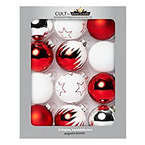 Christbaumkugeln Eislack Rot.Christbaumschmuck Rot Glaskugeln Deine Wohnideen De