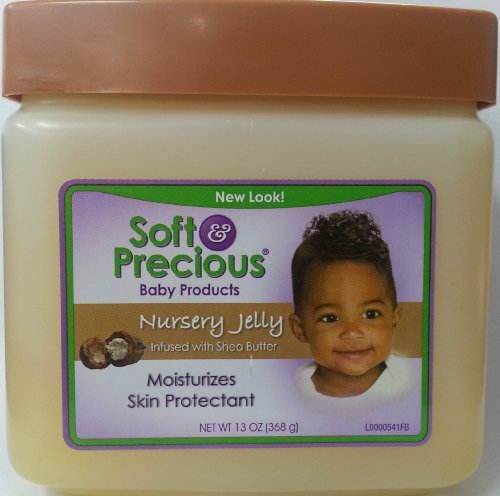 Soft Precious Baby Products Nursery Jelly with Shea Butter Moisturizes Skin Protectant 368g
