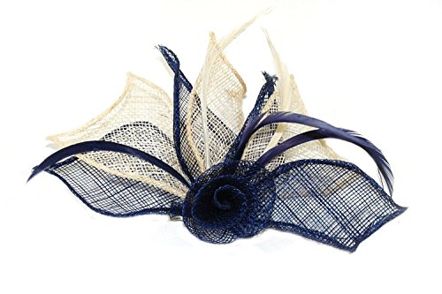 4479-2-tone-coloured-hessian-netted-rose-with-3-petals-fascinator-on-beak-clip-brooch-pin-wedding-na