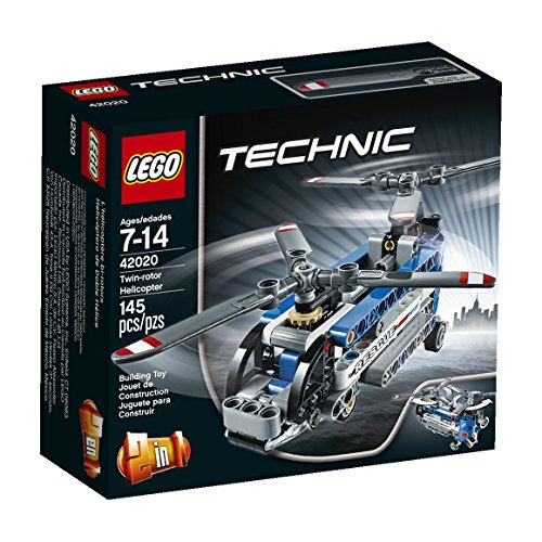 LEGO Technic - Double Helix Helicopter, Construction Games (42020)