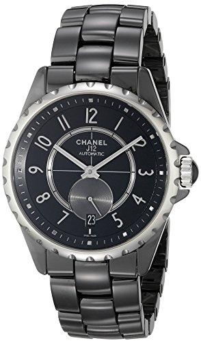 Chanel-Damen-H3836-Analog-Display-Automatische-selbst-wind-black-watch