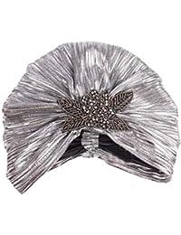 Elodiey Cappello da Donna da Donna da Cappello da Cappellino Retro Autunno  Anni 20 Cappellino da 45abd3bc502b