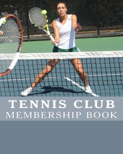 MEMBERSHIP BOOK - Tennis Club