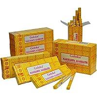GOLOKA - Indisches Räucherstäbchen: Goloka - Nag Champa (Inhalt: 100 g) preisvergleich bei billige-tabletten.eu