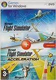 Microsoft Flight Simulator X avec FS X Acceleration Expansion Pack - Ensemble complet