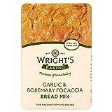 Wright Knoblauch Und Rosmarin Focaccia - Brot - Mix (500G)