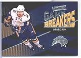 Upper Deck 2010 2011 Victory JEU DE DISJONCTEURS #Go-DR Derek Roy Sabre-Crosse de Hockey sur gazon-carte