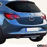 Opel Astra J ab 2010 Chrom Kofferraum Öffner Blenden V2A aus Edelstahl