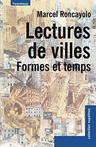 Lectures de villes : Formes et temps