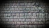 Davies 11880Halloween Scene Setter–Brick Wall Kunststoff Banner–ca. 106,7x 127cm