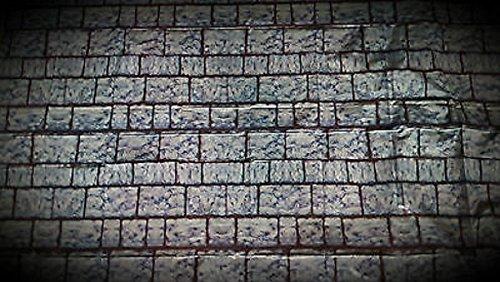een Scene Setter-Brick Wall Kunststoff Banner-ca. 106,7x 127cm ()