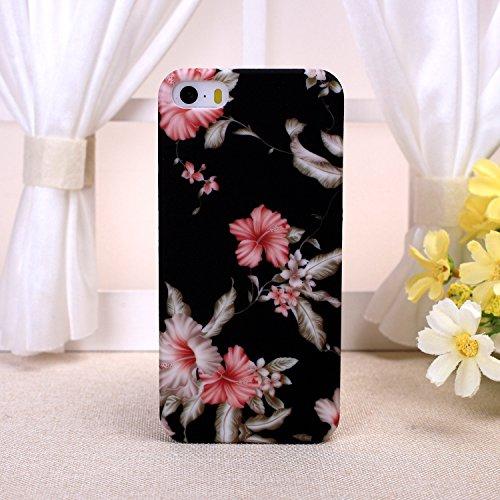 EKINHUI iPhone 6S Plus h¨¹lle, Art und Weise Neue kleine frische Weinlese -Blumenblumenmuster Design Kunststoff Hard Case f¨¹r das for iPhone 6S Plus(1) 4