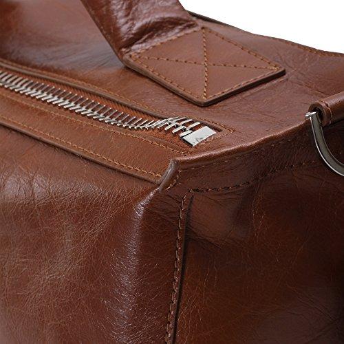Orciani , Sac à main pour homme marron cuir seulement cuir