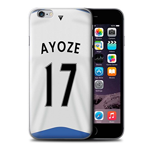 Offiziell Newcastle United FC Hülle / Case für Apple iPhone 6S / Obertan Muster / NUFC Trikot Home 15/16 Kollektion Ayoze