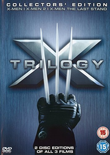 X Trilogy (Collector's Edition)(X-Men,X-Men2, X-Men The Last Stand)