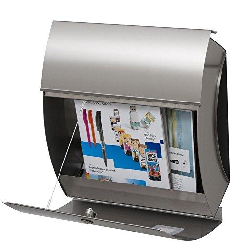 Frabox Edelstahl Briefkasten SANTA FE EXKLUSIV - 2