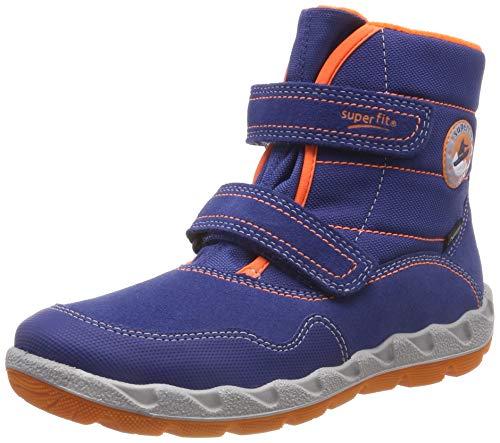 Superfit Jungen Icebird Schneestiefel, Blau (Blau/Orange 81), 25 EU