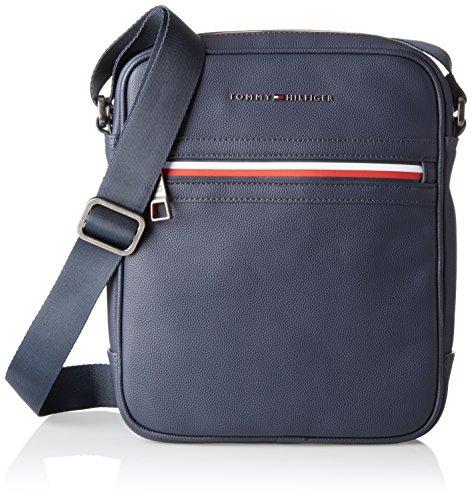 Tommy Hilfiger 2 Tasche (Tommy Hilfiger Herren Essential Reporter Ii Laptop Tasche, Blau (Tommy Navy), 3x26x24 cm)