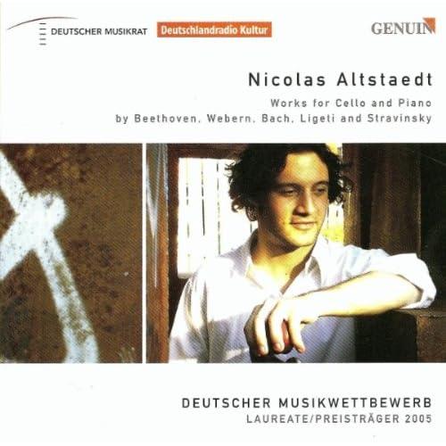 3 Little Pieces, Op. 11: No. 1. Massige Achtel