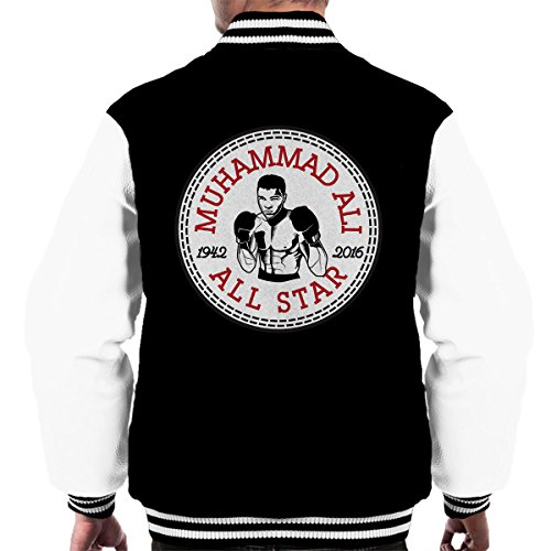 All-star-boxer (Muhammad Ali All Star Converse Logo Men's Varsity Jacket)