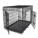 SONGMICS 2 Portes Cage pour chien...