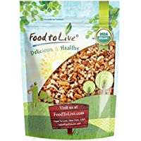 Organic Raw Pecan Pieces by Food to Live (Fresh Nuts, Bulk, Non-GMO, Unsalted, Product of the USA, Best for Baking) — 1.5 Pounds