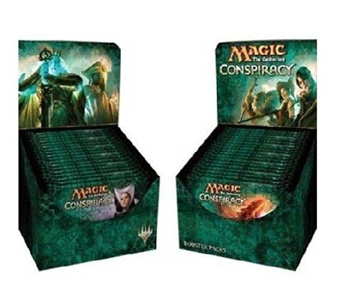 Preisvergleich Produktbild Conspiracy Booster Draft Pod Set - Four (4) Player Multiplayer-Focused Kit: Magic: the Gathering: 18 Booster Packs (1/2 Box Split) by Wizards of the Coast